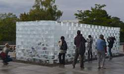 http://www.fotofisch-berlin.de - Berlin Art Week_ALLEN KAPROW_FLUIDS